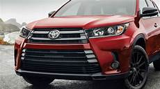 2019 toyota highlander model overview pricing tech and