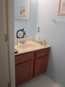 tiny half bath makeover hometalk