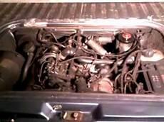 Vw T3 Jx Motor Motortestlauf Diesel Blue