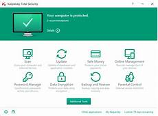 how to open kaspersky total security 2016