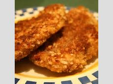 pecan crusted chicken with banana salsa_image