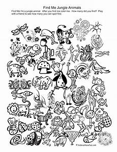 jungle animals coloring pages for kindergarten 17049 printable coloring pages of animals in the jungle printable for preschool i