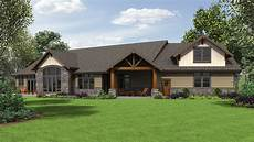 alan mascord craftsman house plans alan mascord design associates plan 1345 rear
