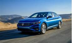 2019 volkswagen jetta exterior blue driving a