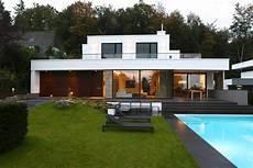 Moderne Villa Deutschland - moderne villa mit pool