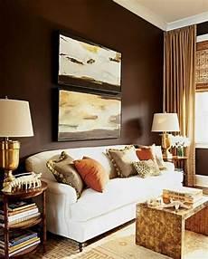 Wandfarben Brauntöne Wohnzimmer - w 228 rme und herzlichkeit durch wandfarbe quot braunt 246 ne
