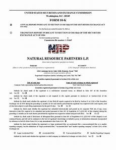 natural resource partners l p 2016 form 10 k final cover