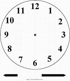 telling time worksheets blank clock faces 2933 blank clock for ones to practice telling time add a brass prong and your clock