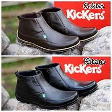 jual sepatu boots formal casual kerja kantor sepatu kulit pria termurah kickers di lapak mul