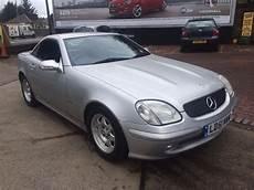 mercedes slk 200 cabrio 2001 mercedes slk 200 kompressor convertible in