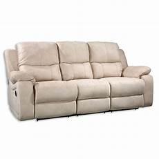 sofa breit sofa 3 sitzer beige mit relaxfunktion 207 cm breit