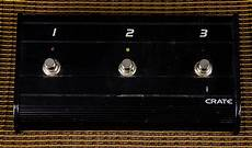 Crate 3 Button Footswitch Pedal Reverb