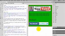 how to create html page and send html email youtube