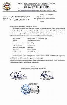 Contoh Kop Surat Gereja Bethel Indonesia Gawe Cv