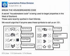 einbrecher symbole bedeutung burglar s code signs guardhome
