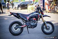 Modifikasi Crf150l by Intip Modifikasi Honda Crf150l Supermoto By Ahm Gambaran