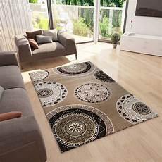 teppich geometrisches muster teppich modern kreis muster glitzereffekt dicht gewebt in