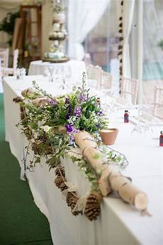 purple green rustic woodland glade wedding wedding
