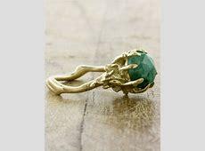 Colette Emerald: Unique Natural Emerald Ring   Ken & Dana