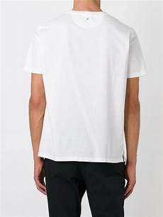 valentino rockstud t shirt in white for lyst