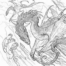 ausmalbilder f 252 r erwachsene drachen zum ausdrucken kostenlos