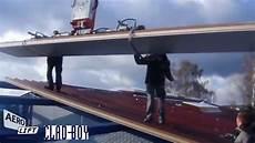 Montage Dachpaneelen Mit Haken Und Kette Oder Clad Boy