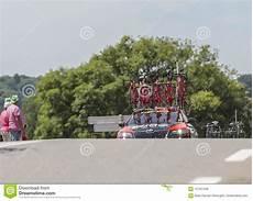 Technical Car Tour De 2017 Editorial Stock Photo