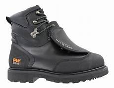 mens timberland pro 8 quot steel toe eh waterproof met guard black
