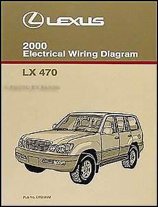 old car manuals online 2000 lexus lx free book repair manuals 2000 lexus lx 470 wiring diagram manual new electrical schematics original lx470 ebay