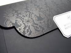 damask wedding invitations black and formal black damask wedding invitation digby