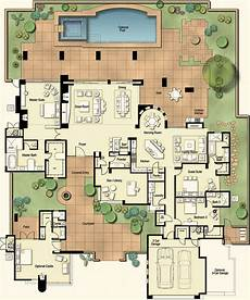 mexican hacienda house plans hacienda floor plan arizona ranch elevation