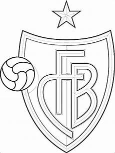 Ausmalbilder Fussball Schweiz Coloring Page Of Fc Basel Logo Coloring Pages