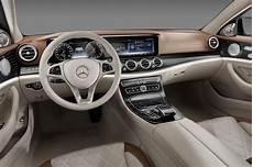 2016 mercedes e class interior revealed