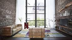 loft wohnung fabrikhalle cegła i beton czy drewno i kwiaty w jakim stylu urządzić salon kobietamag pl