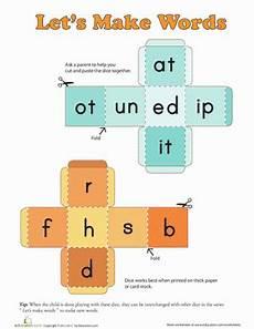 word dice worksheet education com