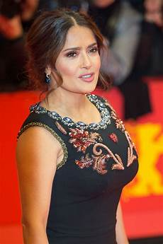 salma hayek at the roads not taken premiere 02 26 2020