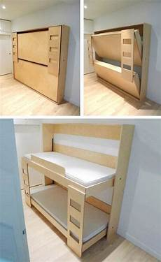 Lit Superpos 233 Murphy Pour Enfants Diy Bunk Bed