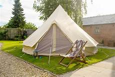 4m canvas bell tent with zipped in ground sheet by bell tent boutique ebay