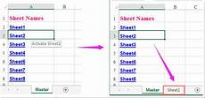 how to follow hyperlink to sheet in excel