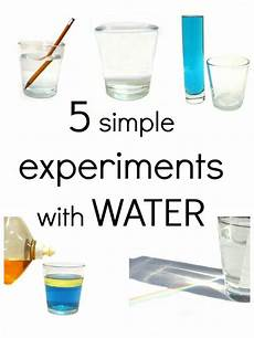 easy science experiments worksheets 12675 5 simple experiments with water kindergarten science science experiments science for