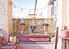 bambus sichtschutz selber bauen diy balkon idee aye