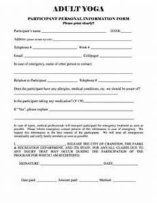 yoga online form fill online printable fillable blank pdffiller