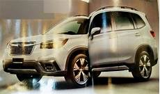 2019 subaru forester debut 2019 subaru forester images leaked ahead of debut