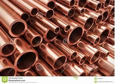 copper pipes stock illustration image 53946612