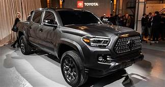 Toyota Revels Nightshade Special Edition Trucks At Chicago