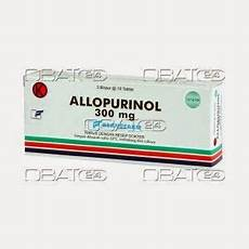 Produk Obat Allopurinol Berno 300mg Tab