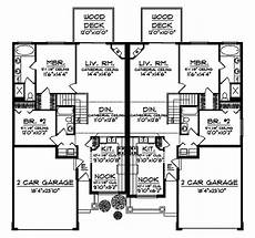 multi family house plans duplex falkirk mill classic duplex plan 051d 0593 house plans