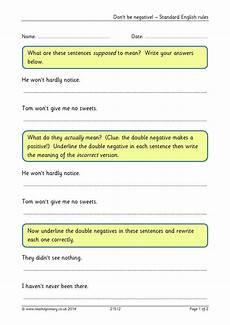 worksheet double negative worksheet grass fedjp worksheet study site