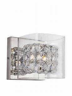 bel air lighting block crystal wall sconce crystal chrome at myhabit light electric
