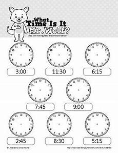 what s the time printable worksheets 3783 what time is it mr wolf telling time worksheets 00 15 30 and 45 harmadik oszt 225 ly
